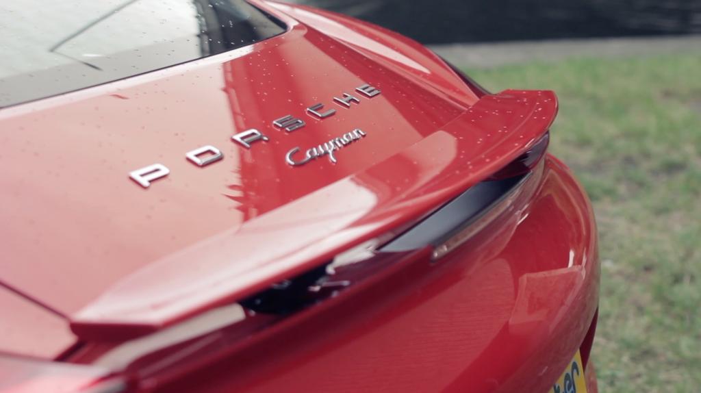 Porsche Cayman 06